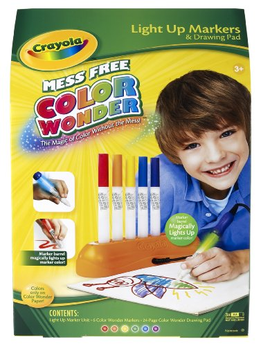 Crayola Color Wonder Magic Light Markers