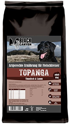 Bild: Topanga Thunfisch  Lamm 15 kg Hundefutter getreidefrei mit 55 Fleisch