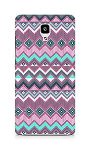 Amez designer printed 3d premium high quality back case cover for Xiaomi Mi 4 (purple aztec)