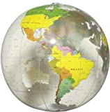 地球儀ボール(クリア) 40cm