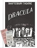 "Edward Gorey ""DRACULA"" Terence Stamp / Bram Stoker 1978 London Program / Tickets"