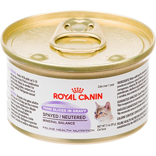 Royal Canin Spayed/Neutered Thin Slices In Gravy