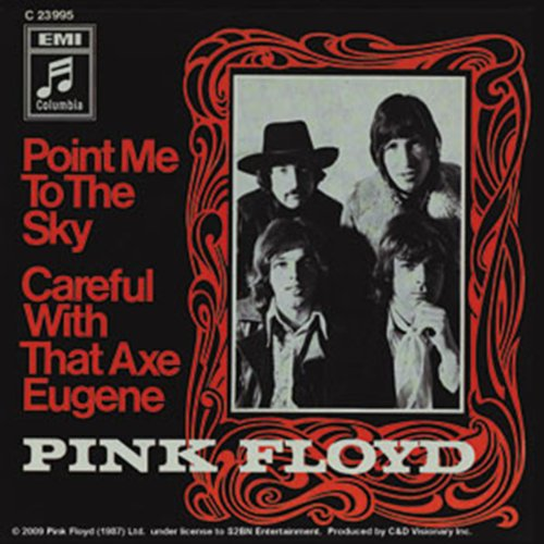 Licenses Products Pink Floyd Point Me To The Sky Sticker