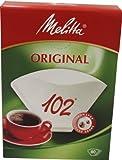 Melitta Filtertüten 102 weiß 80ST