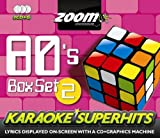 Zoom Karaoke CD+G - 80s Superhits 2 - Triple CD+G Karaoke Pack Zoom Karaoke