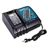 Masione DC18RA Rapid Battery Charger for Makita 14.4V-18V Lithium Ion Drill Tool Compact Battery