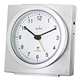 ALARM CLOCK, ANALOGUE, RADIO CONTROLLED 71557 By ACCTIM & Best Price Square