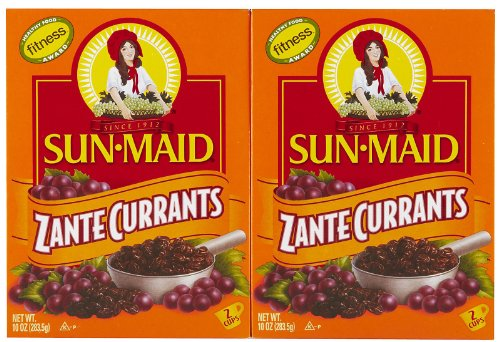 Sun Maid Zante Currants-10 Oz-2 Pack Food, Beverages ...