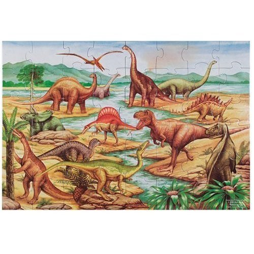 Giant Floor Puzzle For Kids- Dinosaurs