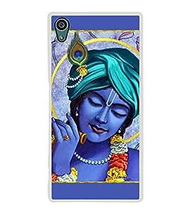 Lord Krishna 2D Hard Polycarbonate Designer Back Case Cover for Sony Xperia Z5 :: Sony Xperia Z5 Dual