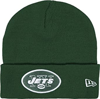 NFL New York Jets Gridiron Knit Cap, Green, One Size Fits All