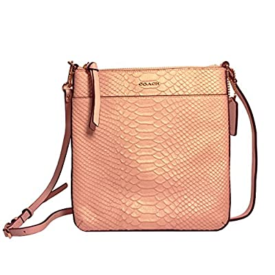 Coach Madison Bonded Leather North/south Swingpack 50829 Blush