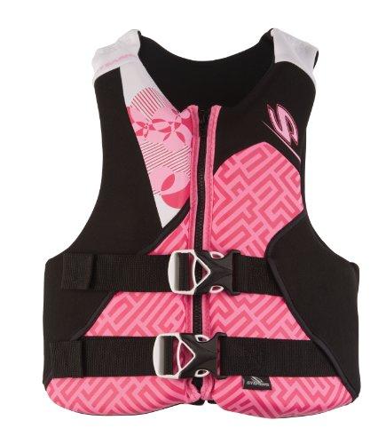 Stearns Youth Hydroprene Life Jacket, Pink/Black