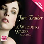 A Wedding Wager (       UNABRIDGED) by Jane Feather Narrated by Jill Tanner