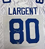 Steve Largent Autographed Seattle Seahawks White Jersey HOF 95 PSA/DNA ITP at Amazon.com