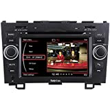 "Koolertron For 2007-2011 Honda CR-V In-dash DVD GPS Sat Nav Navigation Player With 7"" Digital HD Touchscreen + PIP RDS Bluetooth + Steering Wheel Control + TV function"