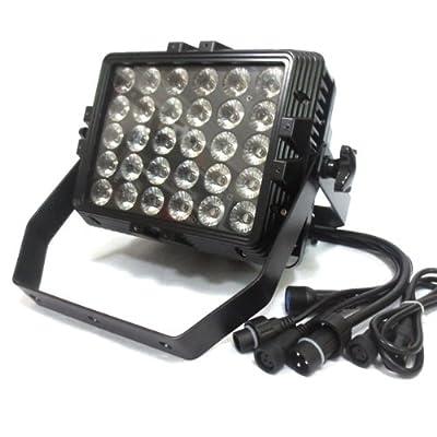 4PCS 30X3W DMX512 PAR 64 Waterproof IP65 Stage Light Party DJ Club UK Plug from buytra