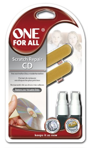 One for All SV 8510 Scratch Repair Kit Kit de nettoyage et entretien pour CD/DVD