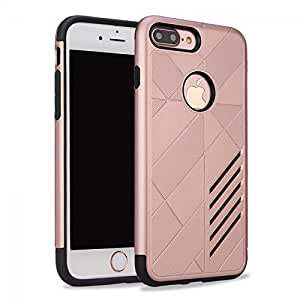 98Gadgets Heavy Duty Protection Caseology Case Cover For Iphone 7 Plus Rose Gold
