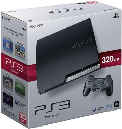 PlayStation 3 (320GB) チャコール・ブラック (CECH-2500B)