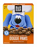 Blue Dog Bakery | Dog Treats | All-Natural | Low-Fat | Peanut Butter & Molasses | 10oz (Pack of 6)
