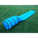 HDP Dog Pet Agility Obedience Training Tunnel Chute 15'