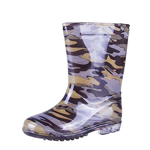 VICVIK Fashion Camouflage Rain Boot 9 (Toddler/Little Kid/Big Kid/Boy) (Good Rain Boots compare prices)