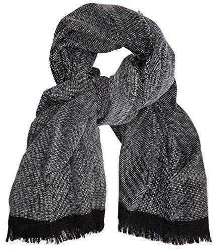 french-connection-echarpe-homme-multicolore-multicoloured-black-white-taille-unique