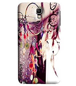 Omnam Articles Lying On Roof Desinger Back Cover Case For Samsung Galaxy Note 3 Neo
