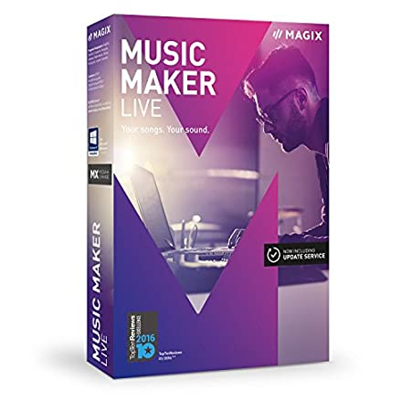 MAGIX Music Maker 2017 Live (PC)