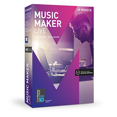 MAGIX Music Maker Live (Rap Recording Software compare prices)