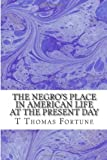 The Negros Place in American Life at the Present Day