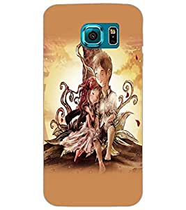 SAMSUNG GALAXY S6 LOVE COUPLE Back Cover by PRINTSWAG