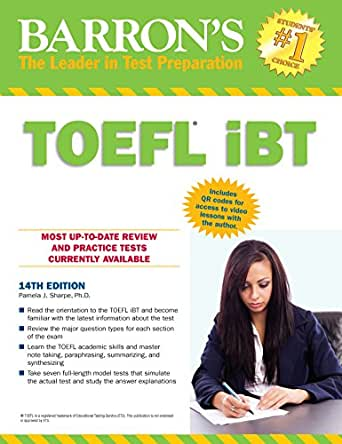 Barron's TOEFL iBT Test Of English as a Foreign Language,14th edition ...