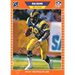 1989 Pro Set #196 Ron Brown Football Card
