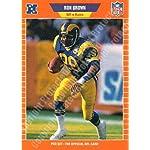 1989 Pro Set #196 Ron Brown Football Card
