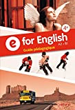 E for English 4e - Guide pédagogique
