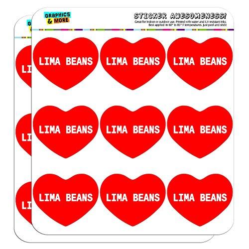 5-cm-51-cm-scrapbooking-aufkleber-i-love-herz-food-h-l-lima-beans