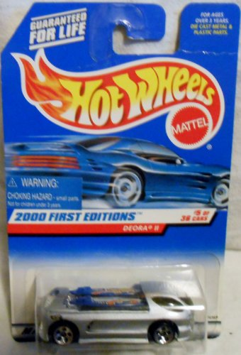 Hot Wheels 2000 First Editions Silver Deora II 1:64 Scale Collectible Die Cast Car #005 (Deora Ii compare prices)
