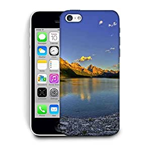 Snoogg River Side Stones Printed Protective Phone Back Case Cover For Apple Iphone 6 / 6S