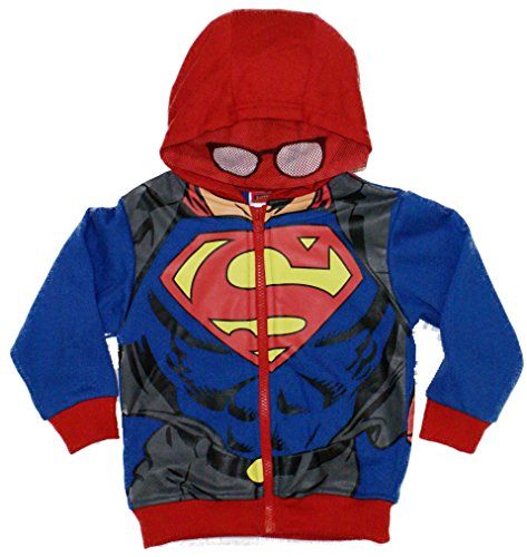 Superman Man Of Steel Toddler Costume Hoodie