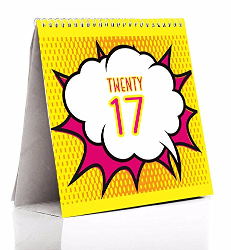 Calendar 2017 | 2017 calendar | Table calendar 2017 | Desk calendar 2017 | PPD Desk Calendar 2017 (Size 4 in x 4 in)  available at amazon for Rs.199