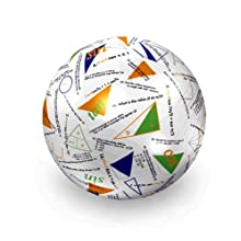 "American Educational Vinyl Clever Catch Trigonometry Ball, 24"" Diameter"
