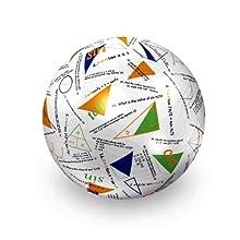"American Educational Vinyl Clever Catch Trigonometry Ball, 24"" Diameter"