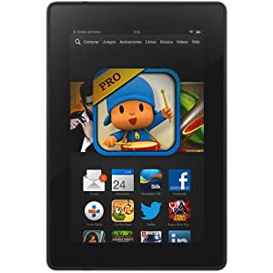 "Kindle Fire HD 7"" (17 cm), Pantalla HD, wifi, 8 GB - incluye ofertas especiales (generación anterior - 3ª)"