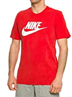 Nike Camiseta Manga Corta Solstice Futura (Rojo)