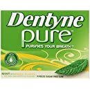 Dentyne Pure Gum,  Mint with Melon Accents, Sugar Free,  9-Piece Packages (Pack of 10)