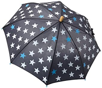Hatley Boys 2-7 Fun Stars Umbrella, Nauti Navy, One Size