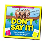 Don't Say It - Jeu de Société (Import Grande Bretagne)...