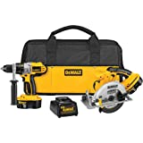DEWALT DCK250X 18-Volt XRP Hammerdrill/Circular Saw Combo Kit